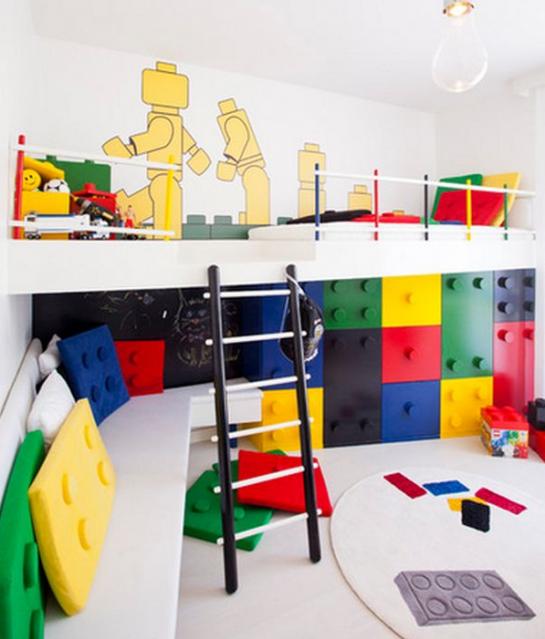 Immovlan - idée chambre d'enfant LEGO
