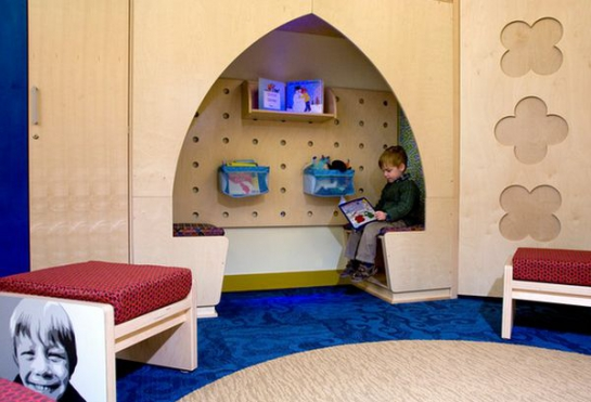 Immovlan - idée chambre d'enfant coin lecture