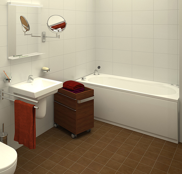 conseils r nover un sol de salle de bains. Black Bedroom Furniture Sets. Home Design Ideas