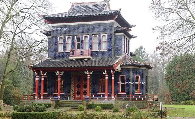 Maison style japonais Edegem