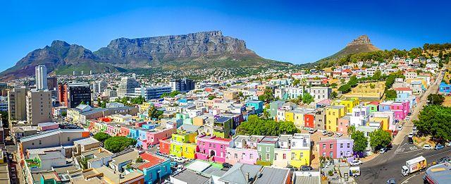 Quartier coloré Bo-Kaap au Cap