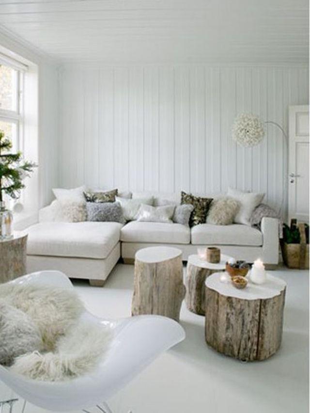 5 prachtige witte interieurs