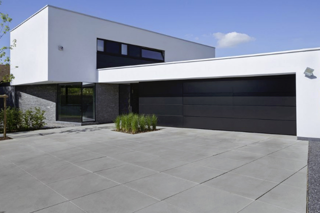 Immo nieuws in beeld een moderne woning met gedurfde volumes 02 06 2016 - Zeer moderne woning ...