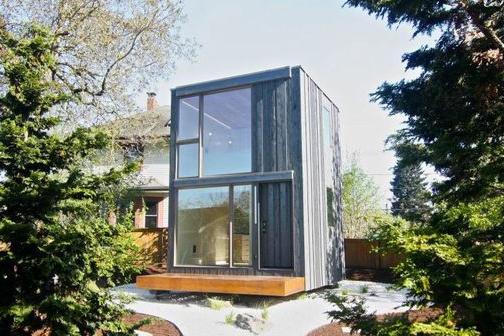 Actu immo cette petite maison se tourne - Petite maison d architecte ...