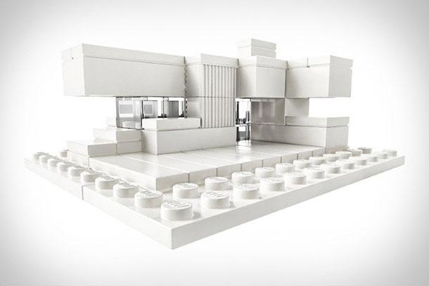 Construisez votre maison avec des LEGO