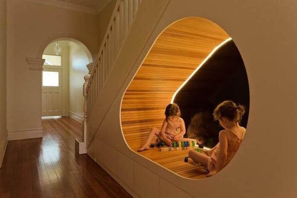 Verloren ruimte onder je trap?