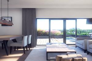 Een appartement met twee slaapkamers aan de Côte d'Azur voor € 300.000