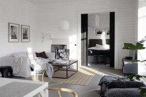 5 magnifiques intérieurs blancs
