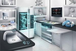 Huishoudapparatuur en de online-keuken.