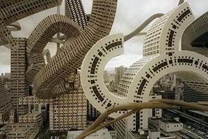 Bekende gebouwen in Tokio en Osaka komen tot leven