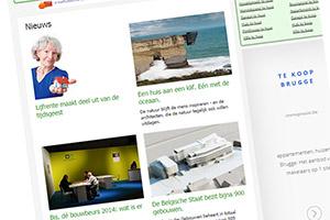 De nieuwe homepage van Immovlan.be!