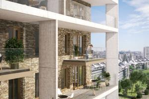 Scheldezicht: architectuur op grote hoogte
