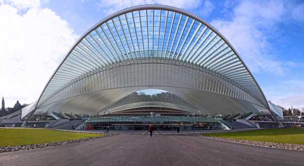 Het station Luik-Guillemins, Santiago Calatrava