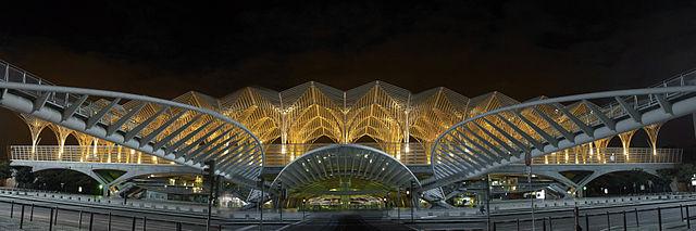 Orient-station. Lissabon, Portugal.