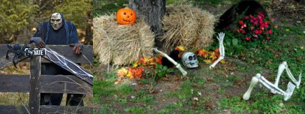 Actu immo deco halloween la maison 23 09 2013 - Decoratie voor halloween is jezelf ...