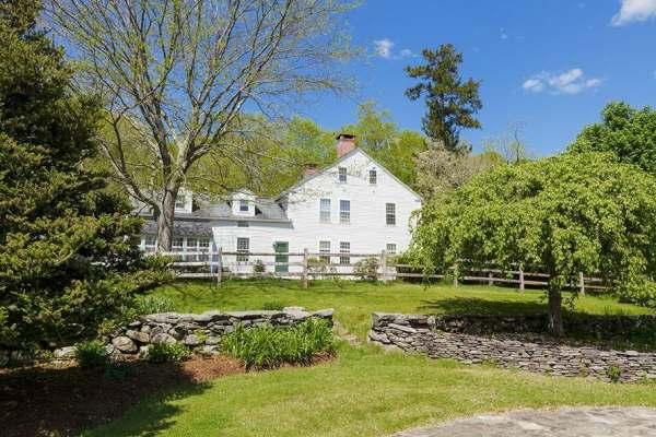 immovlan - luxe boerderij te koop Renee Zellweger tuin