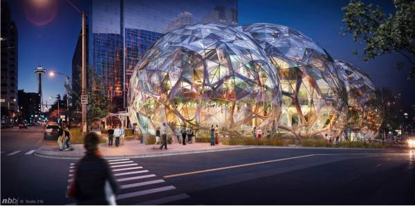 amazon building Seattle