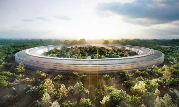 nouveau campus Apple - immovlan.be