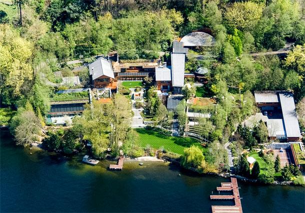 7 anecdotes sur la propriété extravagante de Bill Gates sur Immovlan.be