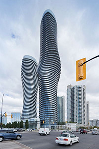 Aboslute Tower - Mississauga, Ontario, Canada. Immovlan.be