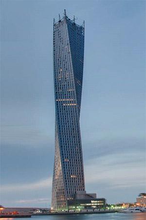Cayan Tower- Dubai, Verenigde Arabische Emiraten. Immovlan.be