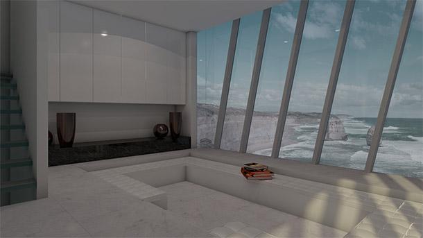 immovlan.be - cliff house design interieur sober modern