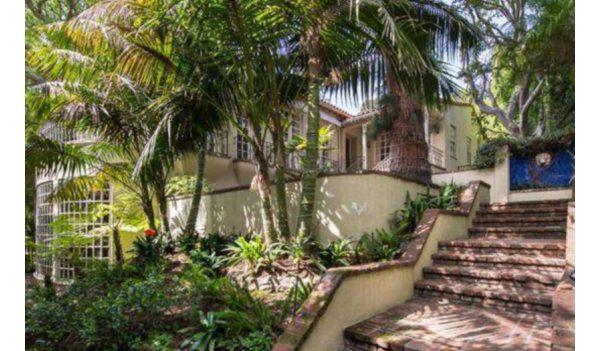 Jodie Foster villa en tuin- Immovlan.be