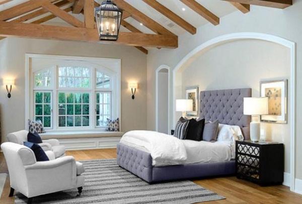 immovlan - nieuwe  woning van Kim Kardashian slaapkamer