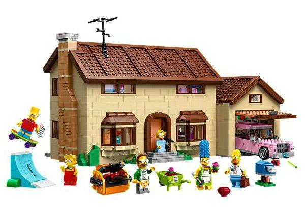 Lego Homer Simpson sa Maison sur Immovlan.be