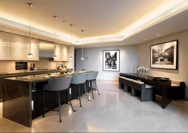 immovlan - spectaculaire appartementen in Londen - eetkamer