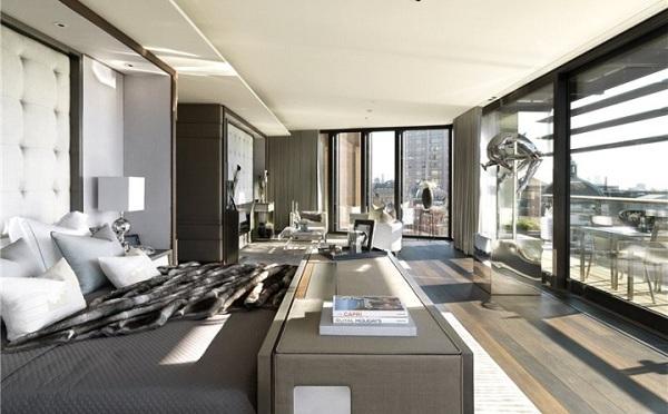 immovlan - spectaculaire appartementen in Londen - slaapkamer