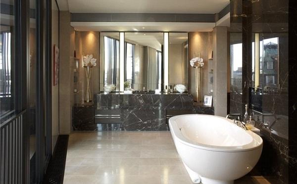 immovlan - spectaculaire appartementen in Londen - badkamer