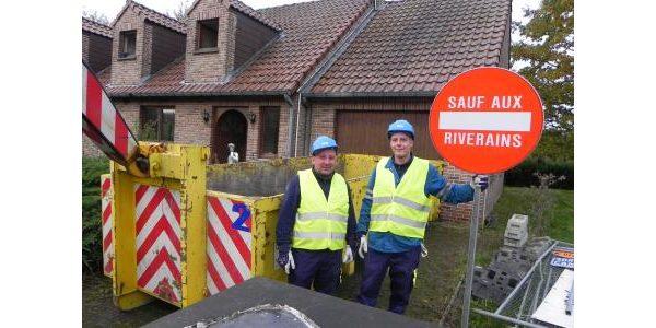 demolition de la maison Sagawe