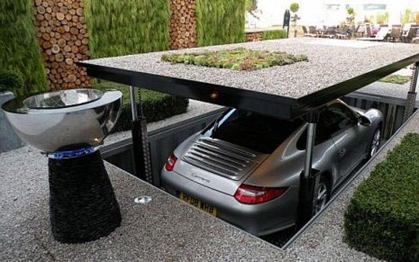 Actu immo 10 id es d 39 am nagement d 39 une maison pour millionaires 14 06 2016 - Acheter une voiture dans un garage ...