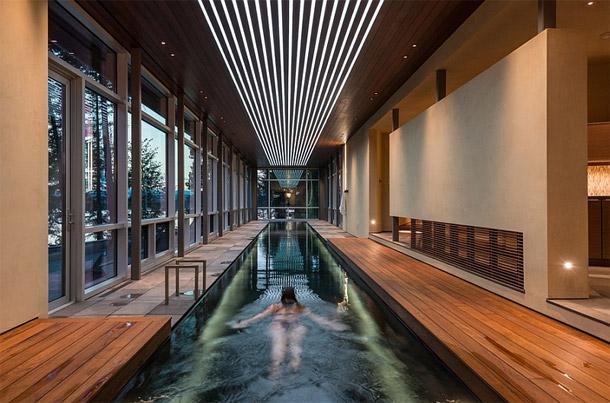 Immo nieuws 5 schitterende binnenzwembaden for Binnen zwembaden