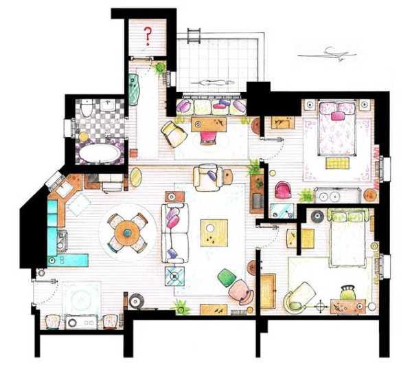 appartement de Rachel et Monica - Friends sur Immovlan.be