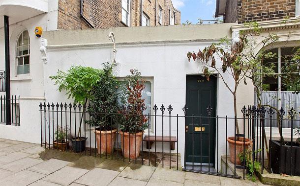 Het kleinste huis van Engeland is verkocht. Immovlan.be