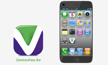 iPhone Applicatie Immovlan.be