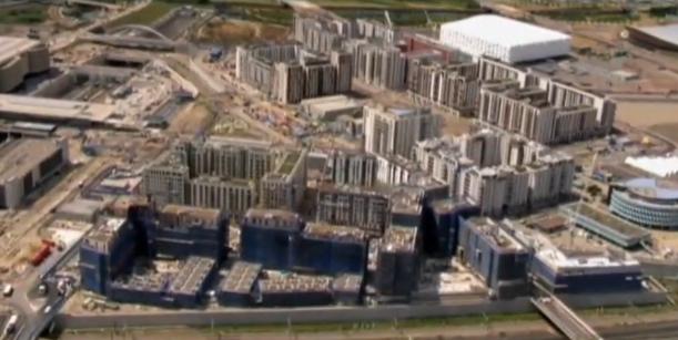 video :  het olympisch dorp OS 2012