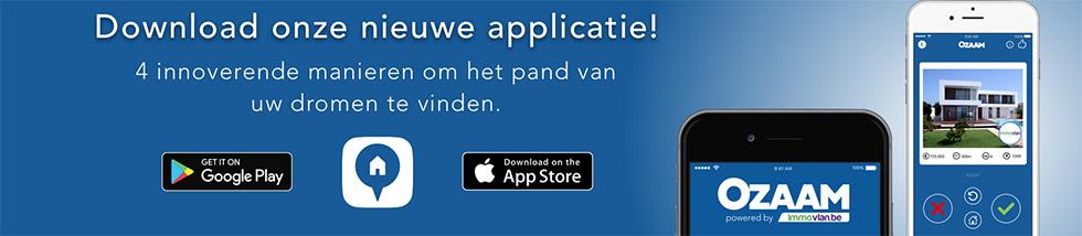 Download onze nieuwe applicatie! 4 innoverende manieren om het pand uw dromen te vinden.