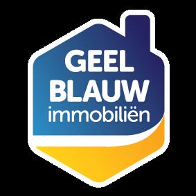 Logo Geel-Blauw Immobiliën bvba