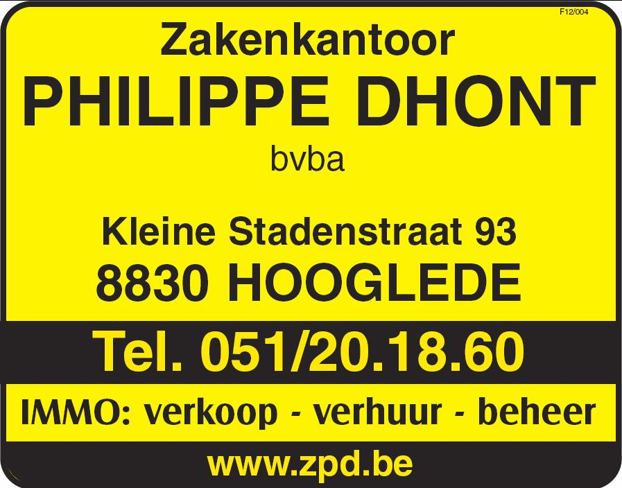 Logo Dhont Philippe Zakenkantoor