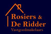 Logo Vastgoedmakelaars Rosiers & De Ridder