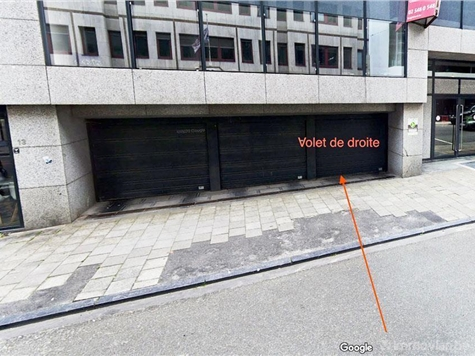 Parking te huur in Brussel (VWC92609)