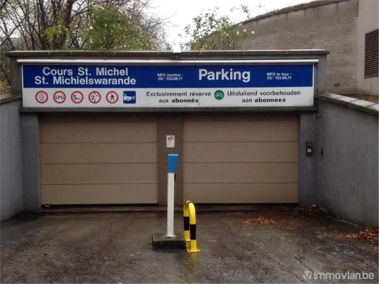 Garage cours saint michel 100 etterbeek - Garage a louer etterbeek ...