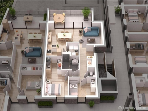 Appartement à vendre à Asse (RAO36176)