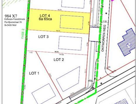 Development site for sale in Mol (RAG64450)