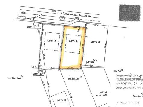 Development site for sale in Kaulille (RAH48290)