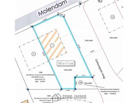 Development site for sale in Ronse (RAP92141)