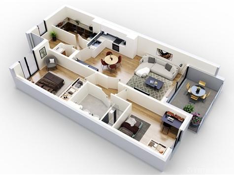 Appartement à vendre à Scherpenheuvel-Zichem (RAP92462)